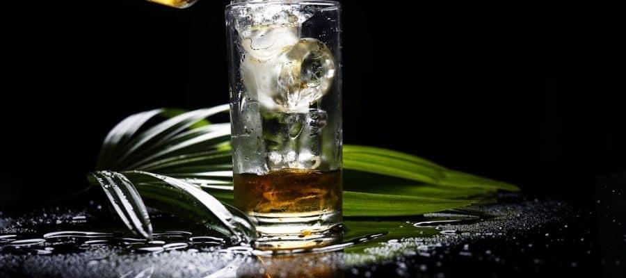 Un verre de rhum